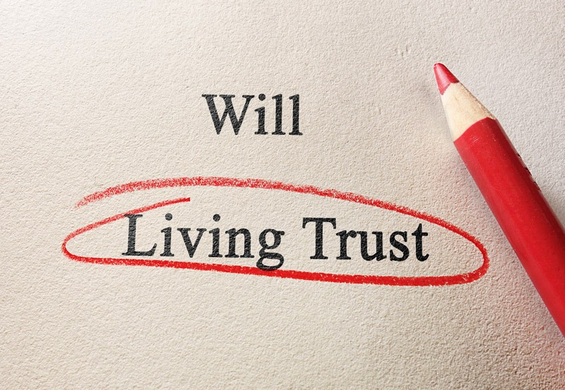 choosing a living will over a trust