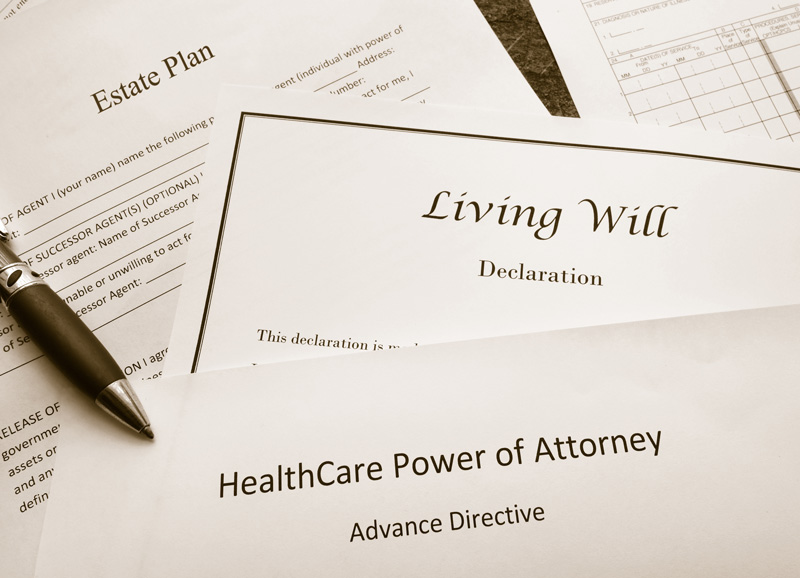 estate planning documents living will trust healthcare power of attorney